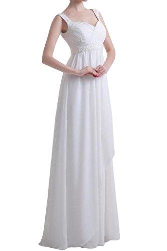 eaebcc1d806 Gorgeous Bridal Long Chiffon Empire Line Bridesmaid Evening Dress Formal  Gown- US Size 26W