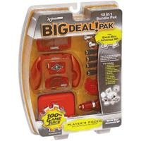 dreamGEAR Big Deal Pak 12-in-1 Bundle for Game Boy Advance SP- Flame Red