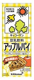 キッコーマン 豆乳飲料 アップルパイ 200ml紙パック×18本入×(2ケース)