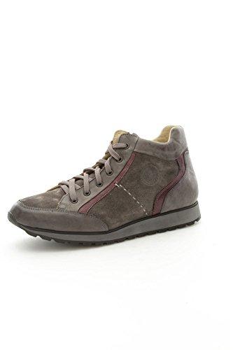 Lion 10659 Sneakers Uomo Camoscio/Pelle Grigio Grigio 44