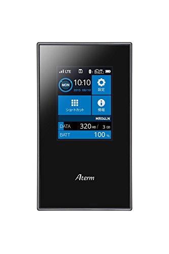 NEC SIMロックフリー LTE モバイルルーター Aterm MR04LN ( デュアルSIM 対応 / microSIM ) MR04LN