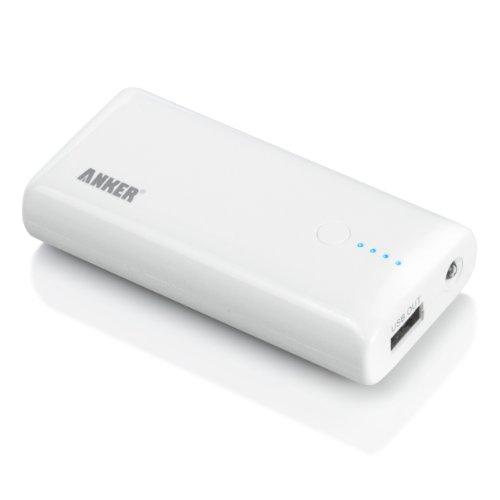 ANKER Astro M1モバイルバッテリー  大容量かつコンパクト 92 x 45 x 22mm 5200mAh iPhone5 / iPhone4S / iPad / iPod / Android / 各種スマホ / Wi-Fiルータ等対応(日本語説明書付き) Astro M1