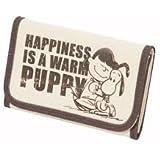 Peanuts Snoopy Geldbeutel Happiness Is A Warm Puppy Geldbörse Brieftasche Portemonnaie