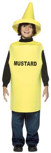 Mustard Child Costume 7-10