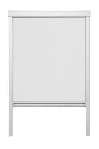 Lichtblick DRS.C02.01 Dachfensterrollo Skylight für Velux Dachfenster, Thermo, Verdunkelung - Weiߟ (C02)
