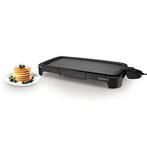 BLACKDECKER-GD2011B-Family-Size-Griddle-Black