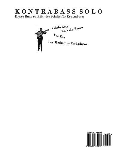 Kontrabass Solo: Vier Stücke für Kontrabass mit Klavierbegleitung