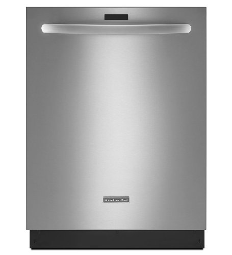 KITCHENAID KDTE504DSS 24'' 6-Cycle/7-Option Dishwasher, Architect