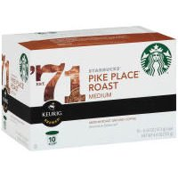 Starbucks Pike Place Roast Medium K-Cups (Case of 6) by Starbucks