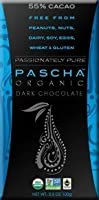 Pascha Organic Dark Chocolate 55% Cacao 3.5Oz (Pack Of 10) by Pascha