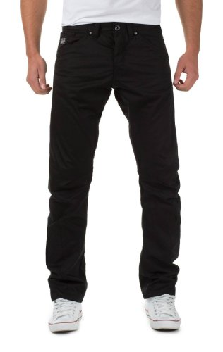 Jack & Jones Herren Chino Hose by Jack & Jones Jeans H/M 2013 Star MOD 9525 schwarz D.G