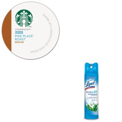Kitgmt9573Rac76938Ea - Value Kit - Starbucks Pike Place Decaf Coffee K-Cups Pack (Gmt9573) And Neutra Air Fresh Scent (Rac76938Ea) front-543208