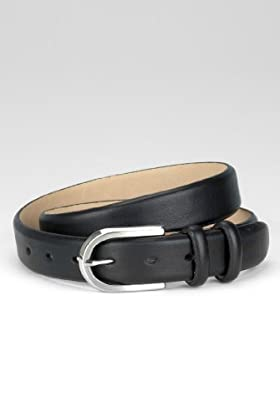 Leather Oval Buckle Belt [T09-2826C-S]