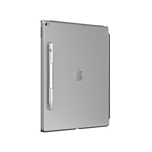 SwitchEasy Apple Pencil収納付き CoverBuddy for iPad Pro 12.9 Translucent Clear