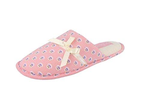 Pantofole Basse Leggere Donna Casa De Fonseca ESPOSTA Rosa 37/38