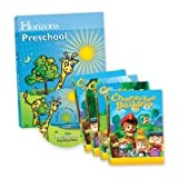 Alpha Omega Horizons Preschool Curriculum & Multimedia Set AOP (Preschool)