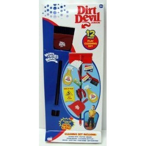 Dirt Devil Junior 12 Piece Play Cleaning Set