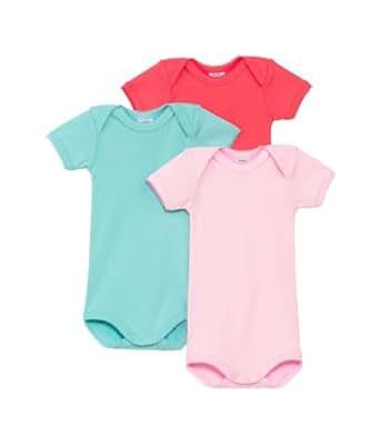 Petit Bateau Mc - Body - Manches courtes - Bébé fille - Multicolore (Spécial99) - FR: 4 ans (Taille fabricant: 4ans/102cm)