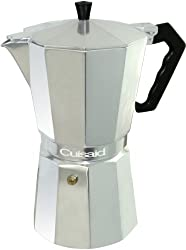 Cuisaid Xpress-O Stove-Top 6 Cup Espresso Maker made by Cuisaid