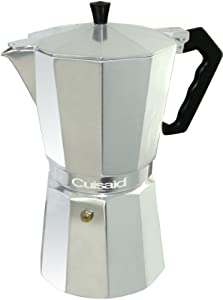 Cuisaid Xpress-O Stove-Top 6 Cup Espresso Maker