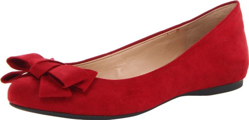 Jessica Simpson Women's Mugara Ballet Flat,Bullseye,8 M US (Red Ballet Flats For Women compare prices)