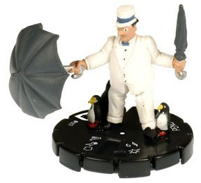 HeroClix: Penguin # 7 (Experienced) - Batman Alpha - 1