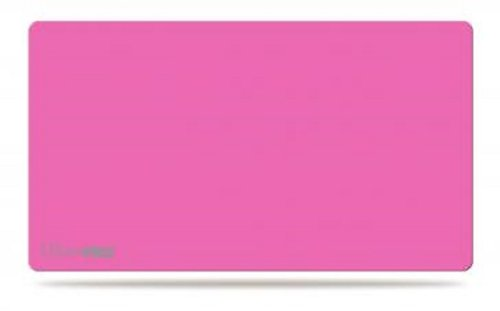 Solid Pink Play Mat Card Game