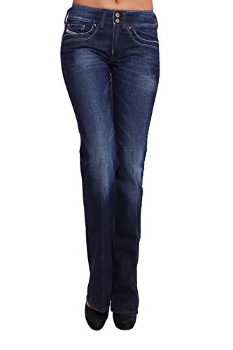 DIESEL - Jeans Donna RONHAR 8FC - Regular, Bootcut - Stretch - W24 / L34