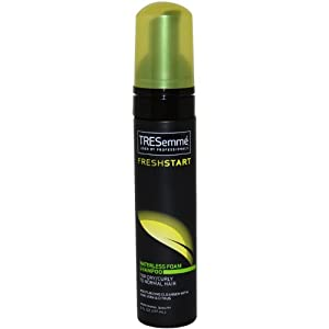 TRESemme Fresh Start Waterless Foam Shampoo, 6 oz