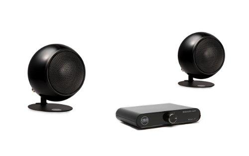 Orb Audio Amp Combo Black X Mini T And Speaker Package, Metallic Black Gloss