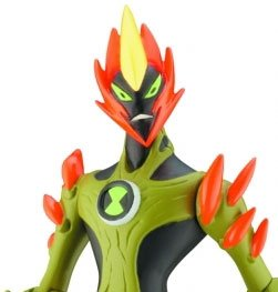 Picture of Bandai Ben 10 (Ten) Transforming Alien Rocks 1 Inch Mini Figure Swampfire (B001AYD26O) (Ben 10 Action Figures)