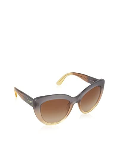 DOLCE & GABBANA GRAD BROWN/CARAMEL/YELLOW WITH BROWNGRADIENT