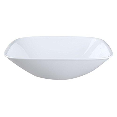 Corelle Square Pure White 1.5 Quart Serving Bowl (Set of 4) (Vitrelle Corelle compare prices)