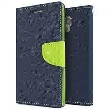 HighSky Fancy Wallet Flip Cover for Redmi Note 3 (Blue Green)