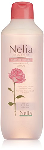 Nelia Acqua di Colonia, Agua Rosas Edc, 750 ml