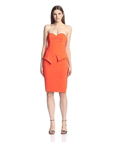 Jay Godfrey Women's Tama Strapless Peplum Dress