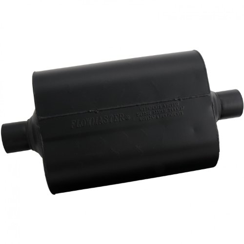 Flowmaster 952445 Super 40 Muffler - 2.25 Center IN / 2.25 Center OUT - Aggressive Sound (98 Honda Civic Muffler compare prices)