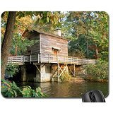 mill-in-stone-mountain-park-georgia-mouse-pad-mousepad-houses-mouse-pad
