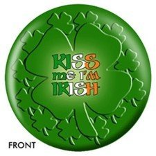 Buy Kiss Me I Am Irish Bowling Ball B003C1ZDMY
