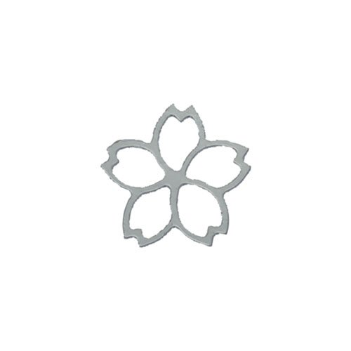 リトルプリティー 桜 4S シルバー 50個 LPー6004R
