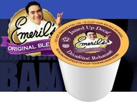 Emeril's Jazzed Up DECAF Coffee * 3 Boxes of