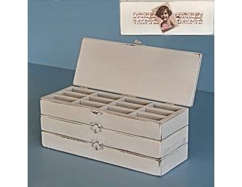 Originals Limited Ruby Three Drawer Jewellery Box (Large)