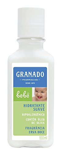 Linha Bebe Granado - Locao Corporal Hidratante Erva Doce 100 Ml - (Granado Baby Collection - Fennel Moisturizer Body Lotion 3.4 Fl Oz)
