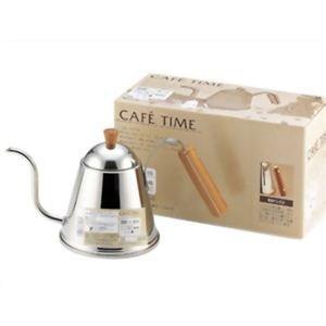 ヨシカワ CAFE TIME(カフェタイム) IH200V対応 木柄ドリップポット 1.0L SH7090