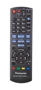 Panasonic BLU RAY DVD PLAYER Remote Control for - DMP-BDT310 -
