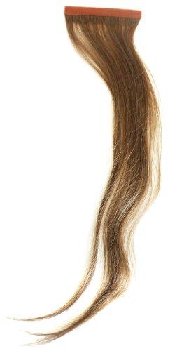 Qwik Percent X 100-Remi Indian Human Hair Extension lisce color 8 Mousey 41 cm, colore: marrone