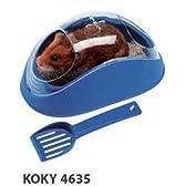 イタリアferplast社製 ハムスターのトイレ KOKY 4635 【レッド】