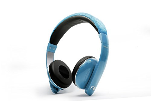 Nakamichi On-The-Ear Wired Headphones with Enhanced Bass and smartphone in-line mic/controller