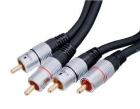 HQ HQSS3611/1.5 Câble AV RCA haute qualité 1,5 m