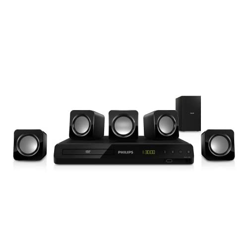 Packs enceintes Home cinema PHILIPSHTD350012NOIR5.1